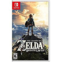 Legend of Zelda Breath of the Wild    NINTENDO SWITCH