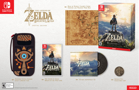 Legend of Zelda Breath of the Wild Special Edition    NINTENDO SWITCH