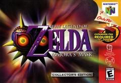 The Legend of Zelda Majoras Mask 3D LABEL DMG    NINTENDO 64