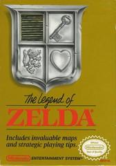 The Legend of Zelda (gold)    NINTENDO ENTERTAINMENT SYSTEM