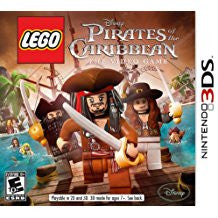Lego Pirates Of The Caribbean The Video Game    NINTENDO 3DS
