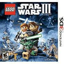 Lego Star Wars 3 The Clone Wars    NINTENDO 3DS