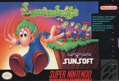 Lemmings BOXED COMPLETE    SUPER NINTENDO ENTERTAINMENT SYSTEM