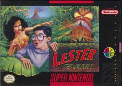 Lester the Unlikely DMG LABEL    SUPER NINTENDO ENTERTAINMENT SYSTEM
