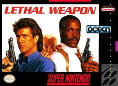 Lethal Weapon DMG LABEL    SUPER NINTENDO ENTERTAINMENT SYSTEM