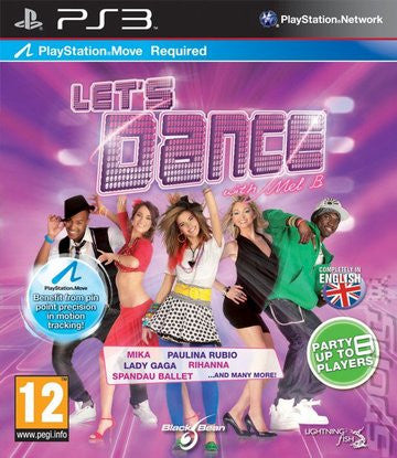 Lets Dance DISC ONLY    PLAYSTATION 3