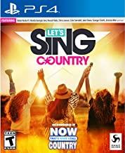 Lets Sing Country    PLAYSTATION 4