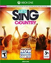 Lets Sing Country    XBOX ONE