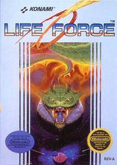 Life Force     NINTENDO ENTERTAINMENT SYSTEM