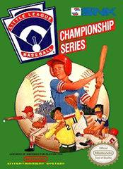 Little League Baseball Championship Series DMG LABEL    NINTENDO ENTERTAINMENT SYSTEM