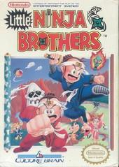 Little Ninja Brothers DMG LABEL    NINTENDO ENTERTAINMENT SYSTEM