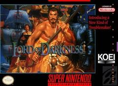 Lord of Darkness DMG LABEL    SUPER NINTENDO ENTERTAINMENT SYSTEM
