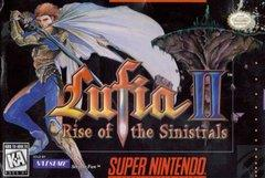Lufia II Rise of the Sinistrals BOXED COMPLETE    SUPER NINTENDO ENTERTAINMENT SYSTEM