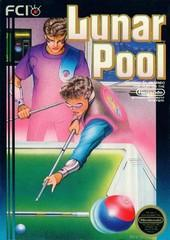 Lunar Pool BOXED COMPLETE    NINTENDO ENTERTAINMENT SYSTEM