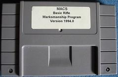 MACS Basic Rifle Marksmanship BOXED COMPLETE    SUPER NINTENDO ENTERTAINMENT SYSTEM