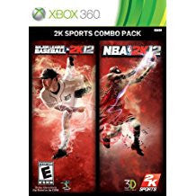 MLB 2K12 NBA 2K12 Combo Pack    XBOX 360
