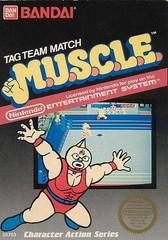 MUSCLE BOXED COMPLETE    NINTENDO ENTERTAINMENT SYSTEM
