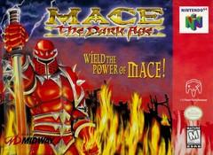 Mace The Dark Age DMG LABEL    NINTENDO 64