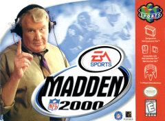 Madden NFL 2000 BOXED COMPLETE    NINTENDO 64