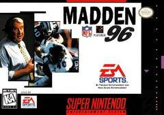 Madden NFL 96 DMG LABEL    SUPER NINTENDO ENTERTAINMENT SYSTEM