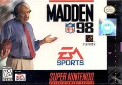 Madden NFL 98 BOXED COMPLETE    SUPER NINTENDO ENTERTAINMENT SYSTEM