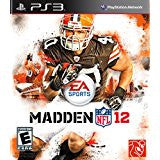Madden NFL 12 DISC ONLY    PLAYSTATION 3