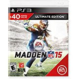 Madden NFL 15 Ultimate Edition    PLAYSTATION 3