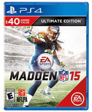 Madden NFL 15 Ultimate Edition    PLAYSTATION 4