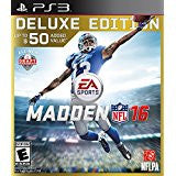 Madden NFL 16 Deluxe Edition    PLAYSTATION 3