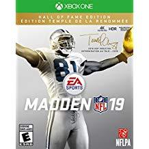 Madden NFL 19 Hall Of Fame Edition    XBOX ONE