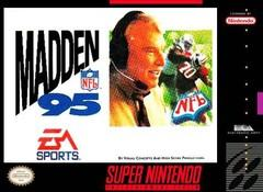 Madden NFL 95 BOXED COMPLETE    SUPER NINTENDO ENTERTAINMENT SYSTEM