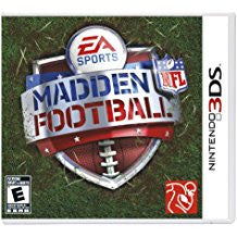 Madden NFL Football 3DS    NINTENDO 3DS