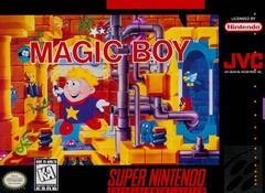 Magic Boy BOXED COMPLETE    SUPER NINTENDO ENTERTAINMENT SYSTEM
