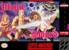 Magic Sword BOXED COMPLETE    SUPER NINTENDO ENTERTAINMENT SYSTEM