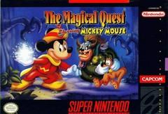 Magical Quest The Starring Mickey Mouse DMG LABEL    SUPER NINTENDO ENTERTAINMENT SYSTEM