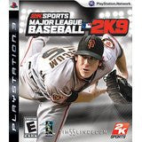 Major League Baseball 2K9    PLAYSTATION 3
