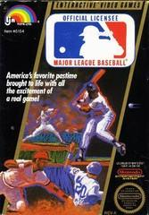 Major League Baseball DMG LABEL    NINTENDO ENTERTAINMENT SYSTEM