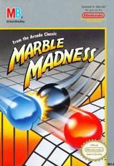 Marble Madness DMG LABEL    NINTENDO ENTERTAINMENT SYSTEM