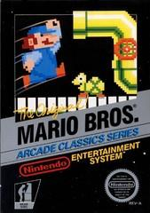 Mario Bros DMG LABEL    NINTENDO ENTERTAINMENT SYSTEM