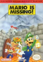 Mario Is Missing!     NINTENDO ENTERTAINMENT SYSTEM