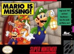 Mario is Missing! BOXED COMPLETE    SUPER NINTENDO ENTERTAINMENT SYSTEM