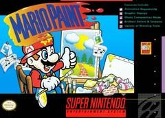 Mario Paint w SUPER NINTENDO ENTERTAINMENT SYSTEM mouse DMG LABEL    SUPER NINTENDO ENTERTAINMENT SYSTEM