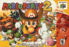 Mario Party 2 DMG LABEL    NINTENDO 64