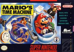 Marios Time Machine BOXED COMPLETE    SUPER NINTENDO ENTERTAINMENT SYSTEM