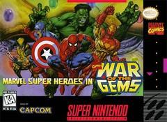 Marvel Super Heroes War of the Gems BOXED COMPLETE    SUPER NINTENDO ENTERTAINMENT SYSTEM