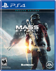 Mass Effect Andromeda Deluxe Edition    PLAYSTATION 4