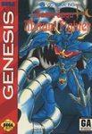 Mazin Saga Mutant Fighter DMG LABEL    SEGA GENESIS