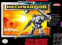 MechWarrior DMG LABEL    SUPER NINTENDO ENTERTAINMENT SYSTEM