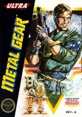 Metal Gear     NINTENDO ENTERTAINMENT SYSTEM