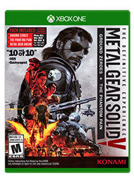 Metal Gear Solid V Definitive Experience    XBOX ONE